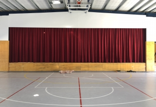 CCCS Southwest Front of House curtain